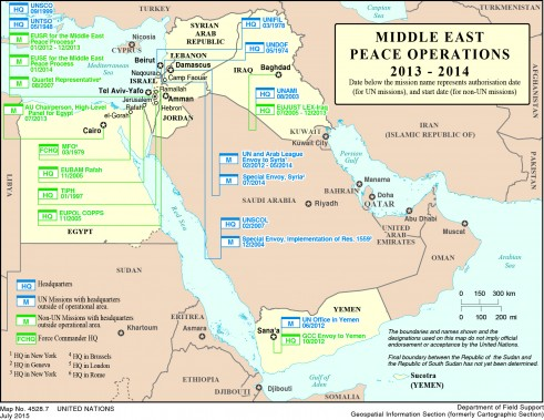 Middle East Global Peace Operations Review
