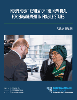 Independent Review of the New Deal for Engagement in Fragile States